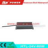 bloc d'alimentation imperméable à l'eau de l'interpréteur de commandes interactif en aluminium continuel DEL de la tension 24V-80W