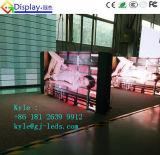 Teléfono móvil que hace publicidad de la pantalla de visualización de LED