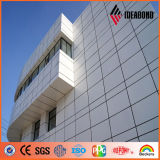 El panel compuesto de aluminio Acm de la impresión nana de Ideabond del certificado de ASTM
