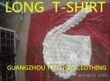 Hete Verkoop van de Kleding van de Koker van de Dames van de uitvoer de Lange T-shirt Gebruikte in de V.S.