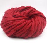 Qualitätklumpiger Knit-Merinowolle-Garn für das Mit der Hand stricken