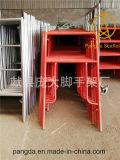 China-kundenspezifisches Entwicklungs-Rahmen-Baugerüst-System