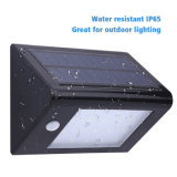 20 LED 350lm Energía Solar PIR Sensor Jardín Jardín Luz de pared Super brillante IP65 impermeable Seguridad Lámpara