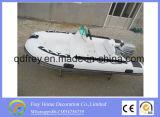 Ce Fiberglass Yacht Rib Fishing Boat