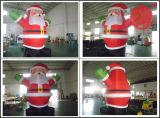 Inflable de Navidad de Santa y muñeco de nieve Arco Decoración H1-301