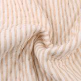 Le Knit organique du Jersey badine le tissu organique d'ouatine de coton de tissu