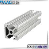 Perfil de aluminio anodizado cabina