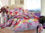 新しいデザインホテルの寝具の一定の多または綿の寝具は枕カバーをセットする