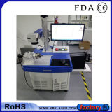 Machine économique de &Marker de gravure de laser de fibre de Tableau de commande numérique par ordinateur pour les aciers inoxydables, métaux, ABS, plastiques