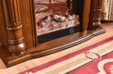 ヨーロッパMDFのヒーターの電気暖炉のホテルの家具(339)