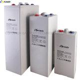 Batteria tubolare 2V 2000ah di Opzv della batteria del gel del piatto di lunga vita