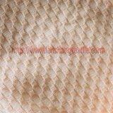 A tela de algodão tingiu a tela tingida tela do jacquard para o vestuário da saia do vestuário do vestido da mulher