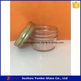 Опарник уникально формы стеклянный, стеклянный опарник свечки, косметический стеклянный опарник для горячего надувательства