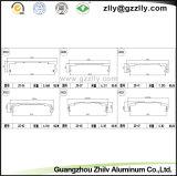 Disipador de calor de aluminio industrial de la protuberancia de la alta calidad