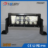 36W voor Lichte leiden van het Werk van de Boot van het Voertuig van de Vrachtwagen van de Auto Drijf 9-60V Vierkante