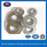 Rondelles latérales simples en métal de rondelle à ressort de rondelle de freinage de dent de la foudre Nfe25511
