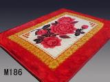 2016枚の新しいデザインアクリルの印刷された毛布