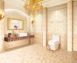 Baldosa cerámica de la pared del cuarto de baño del diseño del mármol del material de construcción para el interior