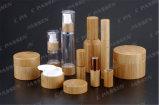化粧品の包装のための新しい到着のタケ円形のアクリルのクリーム色の瓶(PPC-ACJ-105)