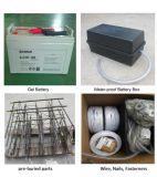 Straßenlaterne-Feld-Typ und Solarstraßenlaternedes Aluminiumlegierung-Lampen-Karosserien-Material-LED