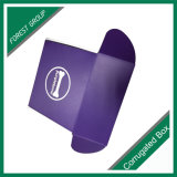 Impreso encargo del regalo de papel corrugado Embalaje Caja de Cartón