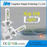 Faro anteriore capo ultra luminoso della lampada LED 20W di Canbus H4