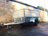 6X4 Hot Dipped Galanvised Box Trailer com 600 Cage