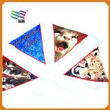 Bandera de encargo del empavesado del feliz cumpleaños con la característica impermeable