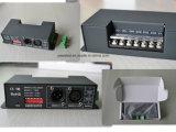 decodificador 15kHz de 12-24VDC 6A*4CH DMX512 em 256 etapas cinzentas ou 8kHz em 4096 etapas cinzentas