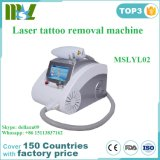 Bewegliche Laser-Tätowierung-Abbau-Maschine für Hauptgebrauch-/Schönheits-Salon Mslyl02A