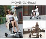 Scooter femelle de mode le plus neuf du l'E-Scooter pliable de mobilité, 5s scooter se pliant, scooter électrique de tricycle transformable