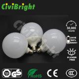 Plástico Ce / Cumple con aluminio E27 G120 18W LED Luces globales