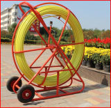 車輪が付いているコンジットのガラス繊維ダクトRodder/ガラス繊維ダクトRodder
