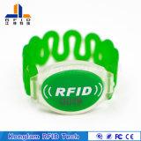 Beweglicher wasserdichter RFID PlastikWristband für Field-work