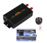 Coban 차를 위해 원격 제어를 가진 본래 소형 GPS 추적자 Tk103b GPS 실시간 온라인 추적 GPS 로케이터