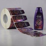 Mayor de la alta calidad de encargo auto-adhesivo de la impresión de la etiqueta engomada