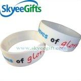 Nach Maß preiswertes förderndes Geschenk-Silikon-Armband