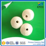 Sfera di ceramica porosa bianca per i media dell'acqua e di sostegno del filtro