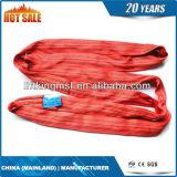 Estilingue redondo infinito tecido material Certificated Ce do preço de fábrica do poliéster para levantar