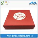 Elegantes kundenspezifisches Papier, das den farbigen lamellierten Dusche-Kasten Großhandels verpackt