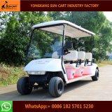 6 Seater elektrische Golf-Karre