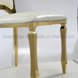 Cadeira bonita do banquete do aço inoxidável da melhor qualidade para o casamento