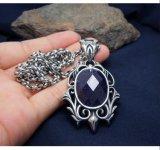 De blauwe Juwelen van de Vrouwen van de Toebehoren van de Manier van de Tegenhanger van de Halsband van het Zandsteen