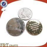 Оптовые изготовленный на заказ монетки металла, монетки возможности, медальон