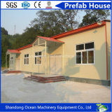 큰 천막 지붕을%s 가진 조립식 모듈 이동할 수 있는 강철 집은 강철 구조물 및 색깔 강철 샌드위치 위원회에 의하여 통합했다