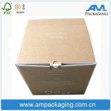 Envase de almacenaje grande que arropa el rectángulo de empaquetado acanalado