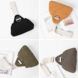 여가 가죽 핸드백 광택이 없는 물자 어깨에 매는 가방 간단한 형식 지갑
