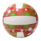 Juguete cosido a máquina material de la bola del voleibol de PVC/PU para la promoción