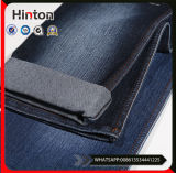 Tissu de denim de coton de lisière lavé par pierre en gros pour le vêtement