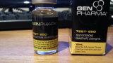 A melhor testosterona de venda do carimbo de ouro que empacota etiquetas do tubo de ensaio de 10 Ml